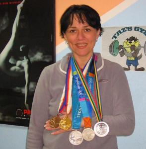 Jasna sa olimpiskim medaljama